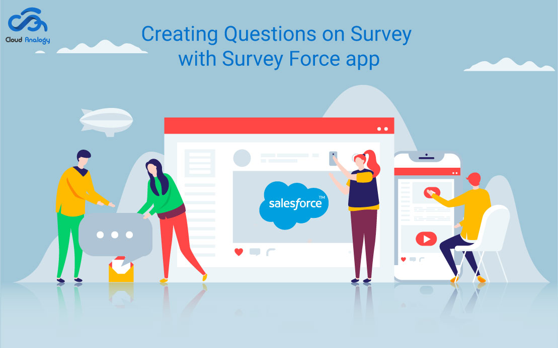 Creating Questions on Survey with Survey Force app
